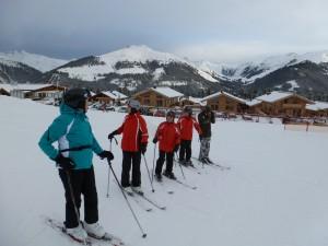 ..die Skilehrer